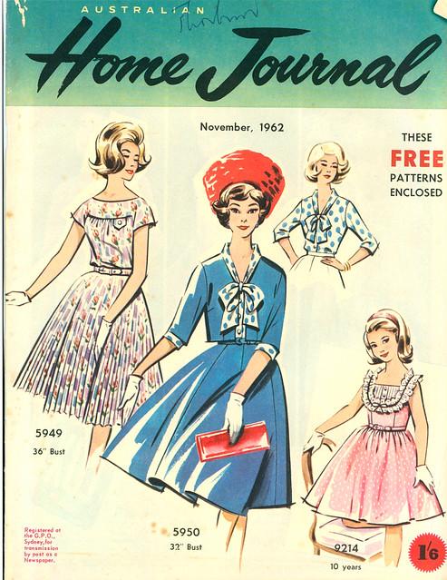 Australian Home Journal November 1962