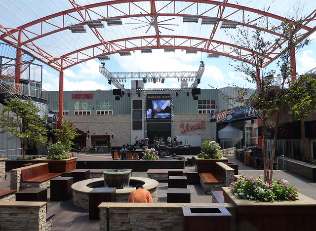 KC Live Stage in Power and Light District
