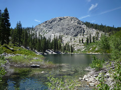 deadman lake & peak