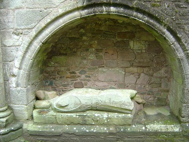 ca. 1234-1250 - 'Alan FitzRoland, Lord of Galloway, Constable of Scotland (+1234)', Dundrennan Abbey, Dundrennan, Dumfries and Galloway, Scotland