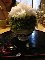 抹茶かき氷2