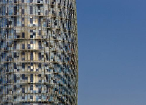Agbar Tower, Barcelona, Spain