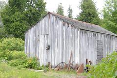 barn, garden buildings, hut, shack, cottage, shed, rural area,