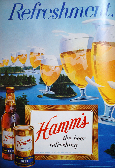 Hamms-refreshment