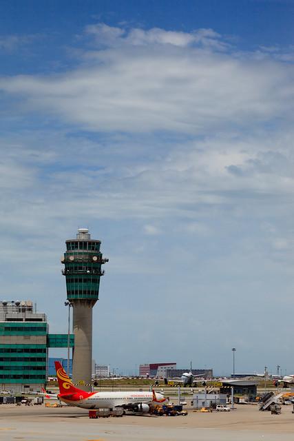 香港国际机场控制塔 control