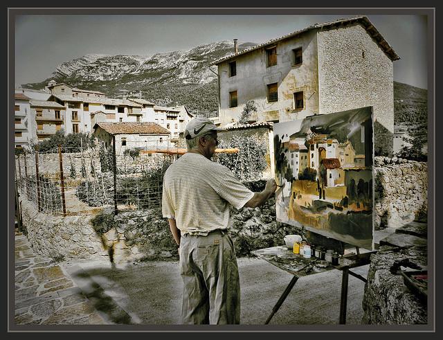 Sant lloren de morunys lleida pintura cuadros ernest - Pintores en lleida ...