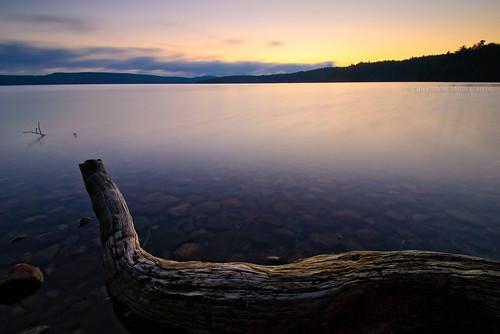 longexposure camp lake ontario canada sunrise landscape nikon scenic cp manfrotto northernontario waterscape algoma nd8 nikond80 snowshoecamp lakewakomata wakomatalake kenkopro1d nikkorafs1024mm