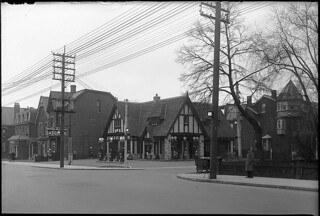 British American Gasoline station, Avenue Road and Lowther