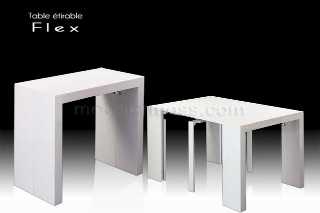 flex console transformable en table tirable flickr photo sharing. Black Bedroom Furniture Sets. Home Design Ideas