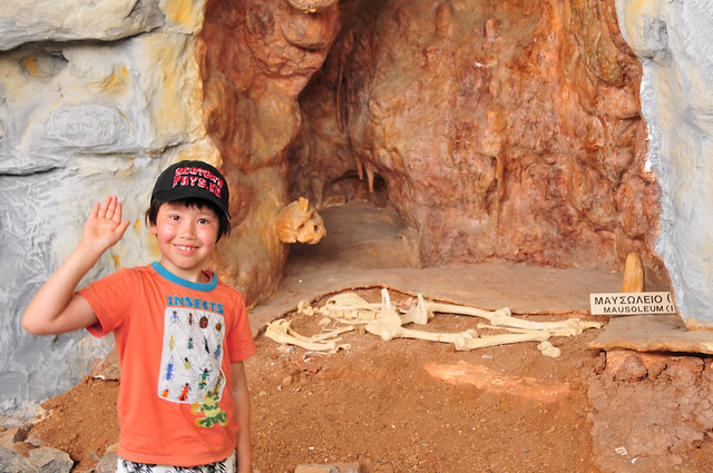 Petralona cave museum by flickr user family-ralph