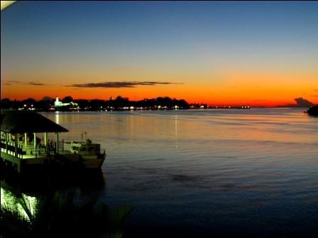 sunset muar bandarmaharani orangemosque
