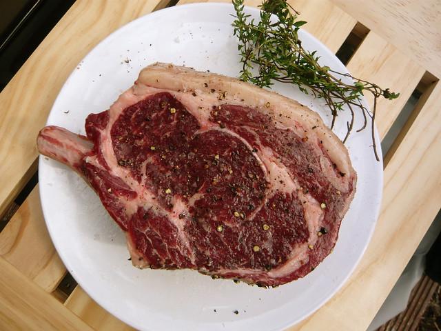 365.214: Cowboy steak
