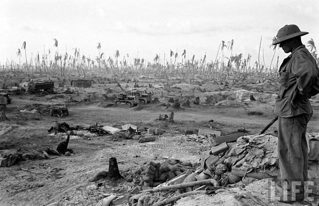 Tarawa, 1943, by John Florea