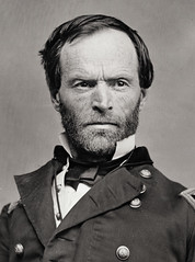 """War is Hell..."" General William T. Sherman, by Mathew Brady c.1860-65"