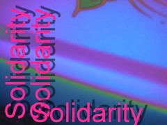 S - for Solidarity to the PEOPLE of the WORLD who need HELP