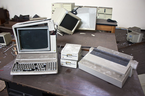 Apple IIe and Imagewriter II