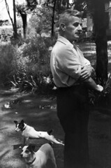 William Faulkner, Oxford, Mississippi 1947, by Henri Cartier Bresson