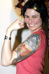 rosie the riveter gets a new tattoo