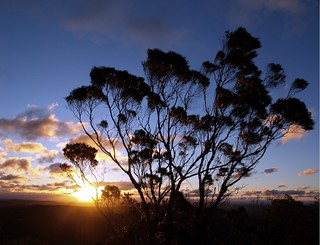 Sunset at Mt Gibraltar Bowral