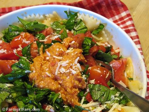 ... basil, and sun dried tomato, fresh tomato & artichoke pesto | Flickr
