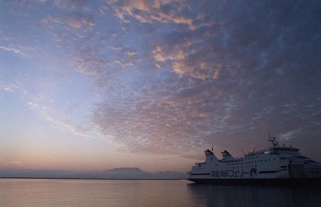 早朝の青森フェリーターミナル - Aomori ferry terminal