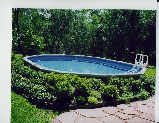 Oval pool garden ridge flickr photo sharing for Garden pool pdf