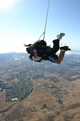 parachute(0.0), tandem skydiving(1.0), air sports(1.0), sports(1.0), parachuting(1.0), windsports(1.0), extreme sport(1.0),