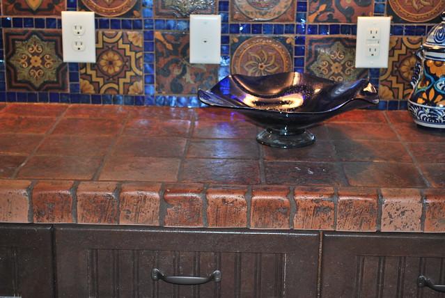 Terracotta Tile Countertops | Flickr - Photo Sharing!