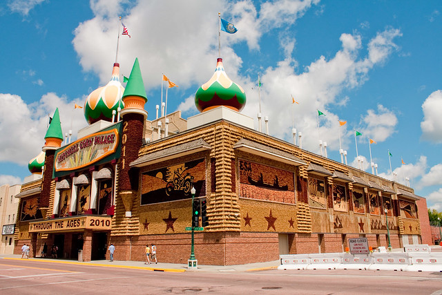 The Corn Palace by hculligan via Flickr