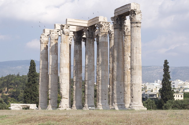 Temple of Olympian Zeus by CC user infanticida on Flickr