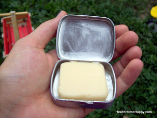 Another Hard Lotion Bar in Tin