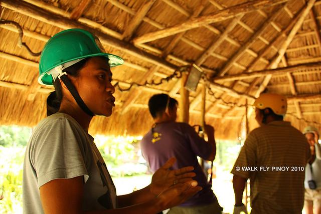Briefing, Ugong Rock