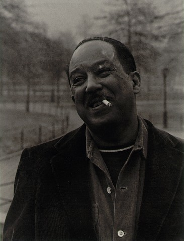 Langston Hughes, by Roy DeCarava 1955