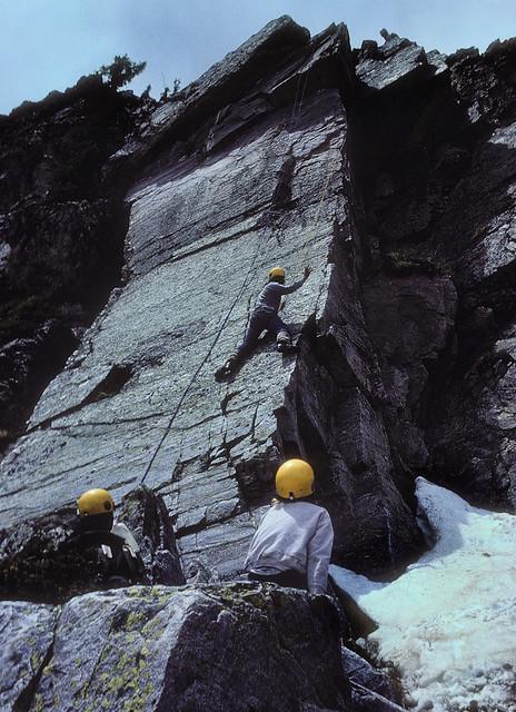 Trampas Lakes climbing area