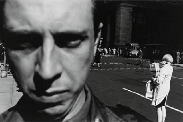 New York, Self Portrait, by Lee Friedlander
