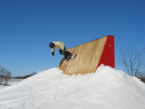 Sunburst WI snowboarder
