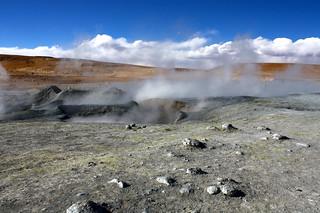 Volcanic scenery in Potosi