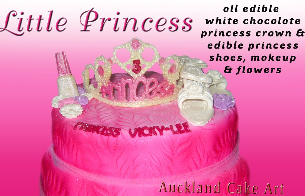 Little Princess Tiara Birthday Cake A Photo On Flickriver
