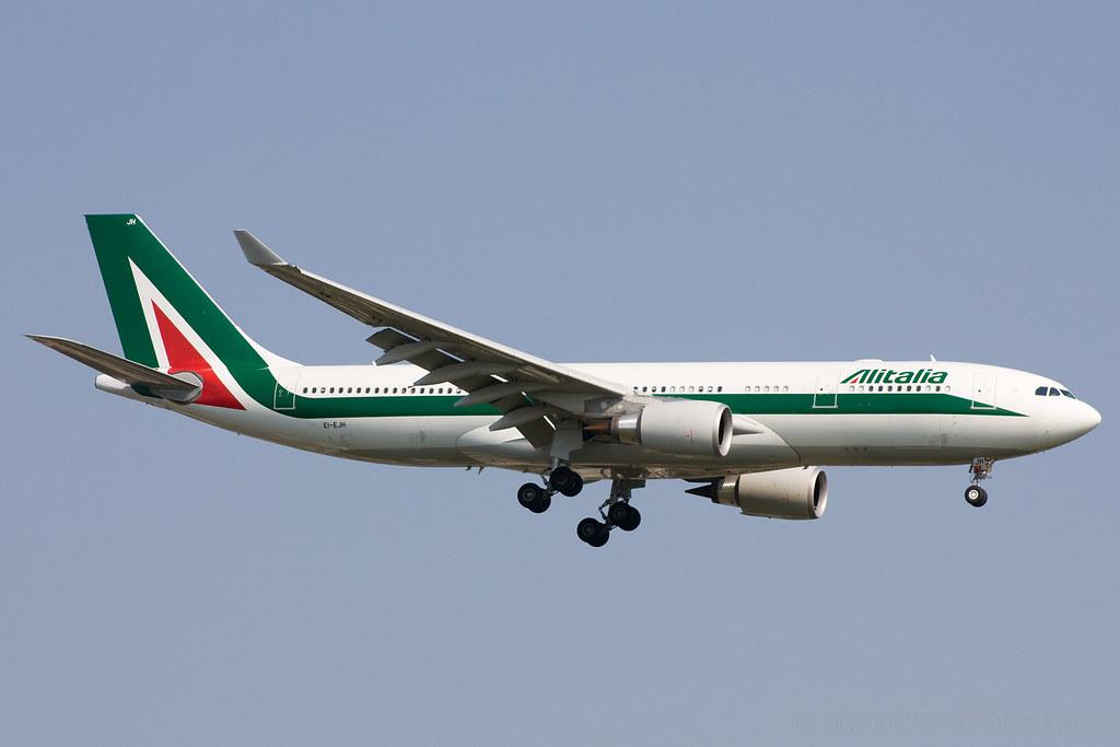 EI-EJH - A332 - Alitalia