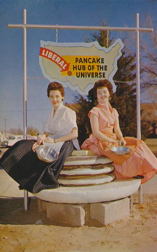 Pancake Hub of The Universe - Liberal, Kansas by What Makes The Pie Shops Tick?