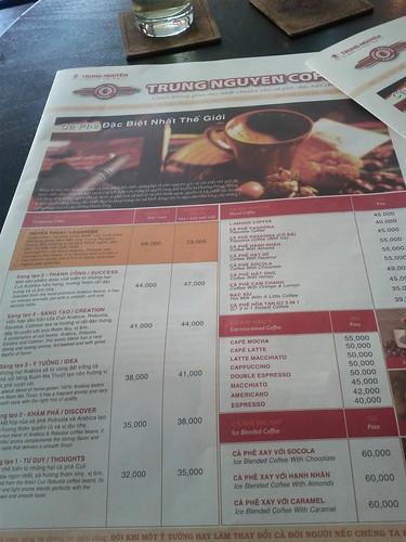 paper? no it's menu