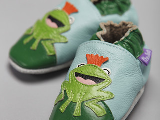 Frog Prince Baby Shoes