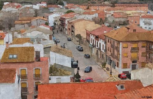 Almoguera - Guadalajara. Detalle
