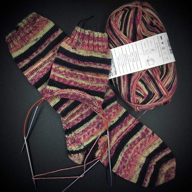 July 4 knitting progress pics