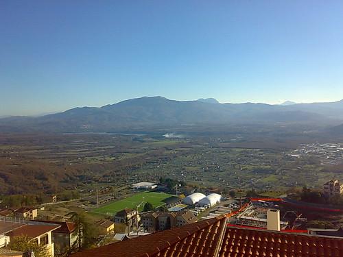 Agri valley and Pertusillo dam