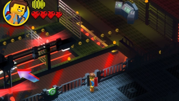 The Assembly Room Lego Movie Game