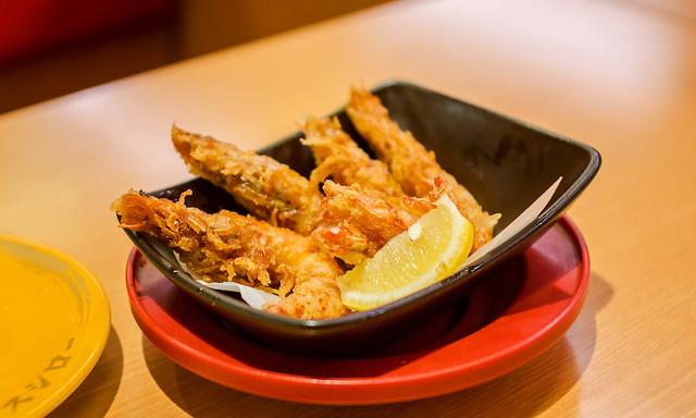 Tempura shrimp with sichuan pepper