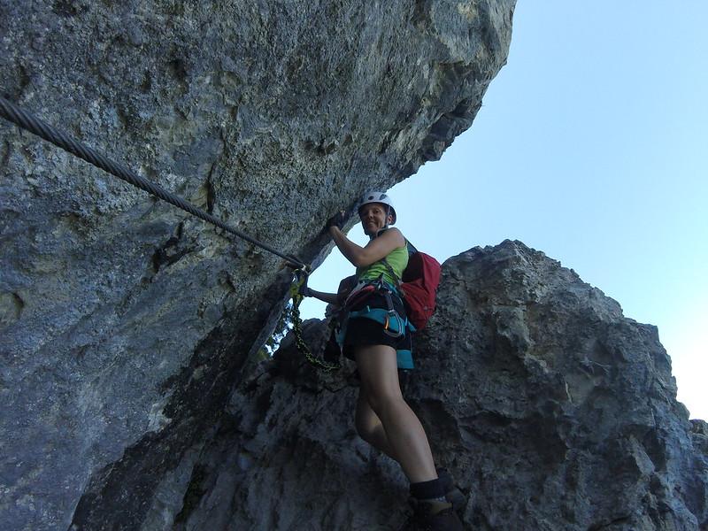 Via Kapf Klettersteig : Klettersteig via kapf else