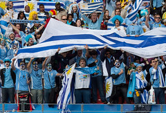 Uruguay's fans during Uruguay - South Korea game | South Africa Wold Cup 2010 | IMG_9364