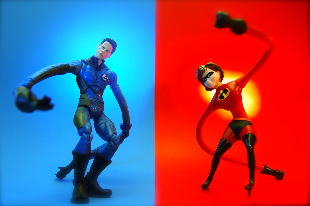Mr. Fantastic vs. Elastigirl (179/365)